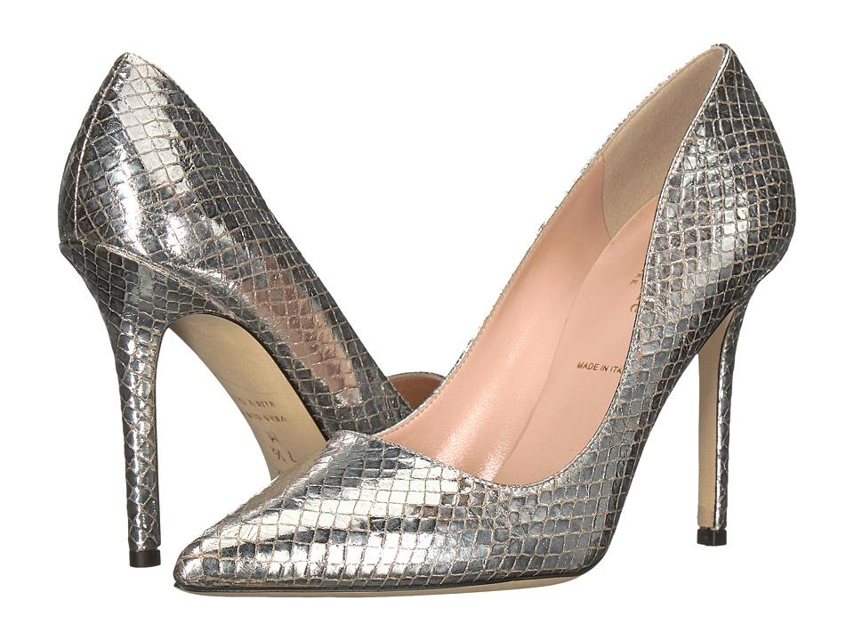 Kate Spade New York - Larisa (Silver Metallic Snake Print) Womens Shoes