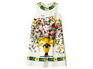 Caltagirone Vase Print Interlock Dress (Big Kids)