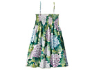 Dolce & Gabbana Kids - Taormina Ortensia Print Dress (Big Kids)