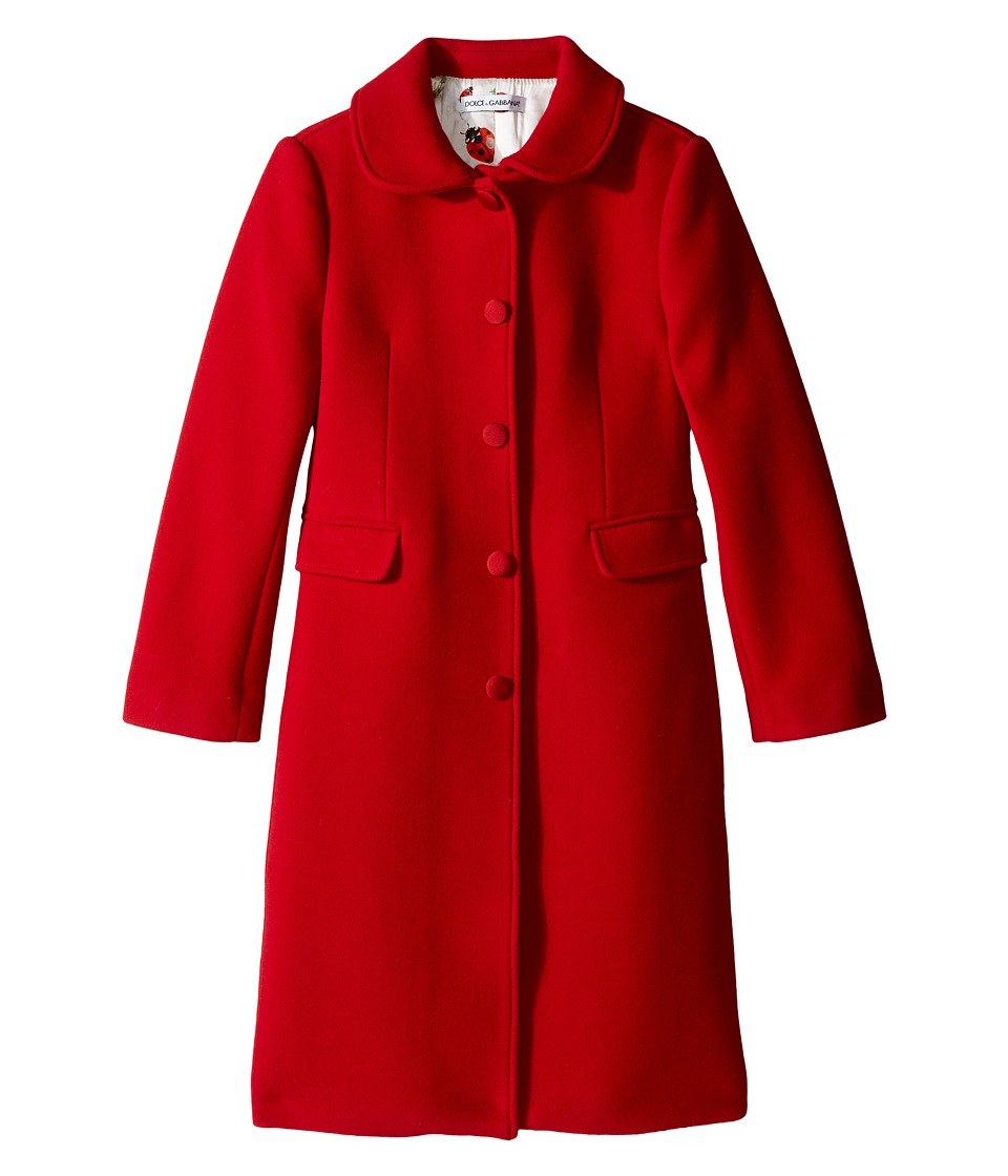 Dolce & Gabbana Kids - Back to School Wool/Cashmere Coat