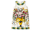 Dolce & Gabbana Kids - Caltagirone Vase Print Interlock Dress (Toddler/Little Kids)