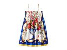 Dolce & Gabbana Kids - Caltagirone Vase Print Dress (Toddler/Little Kids)