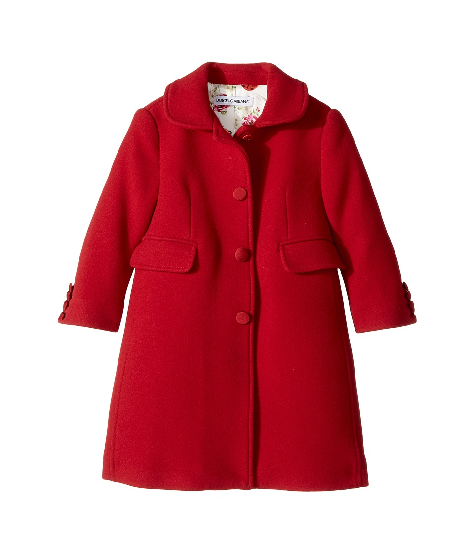 Dolce & Gabbana Kids - Back to School Wool/Cashmere Coat ...