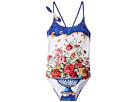 Dolce & Gabbana Kids - Caltagirone Printed Swimsuit (Toddler/Little Kids)