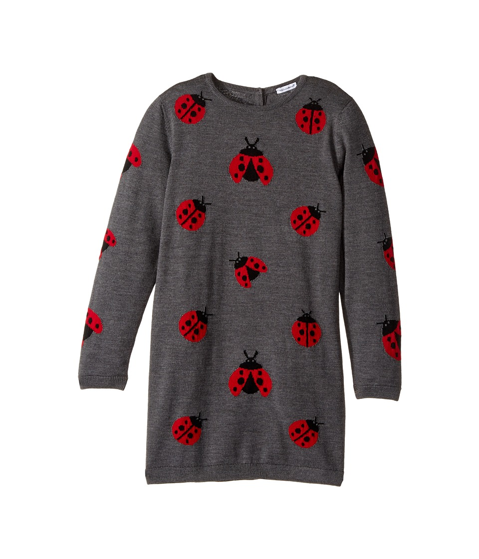Dolce & Gabbana Kids - Back to School Lady Bug Sweater Dress