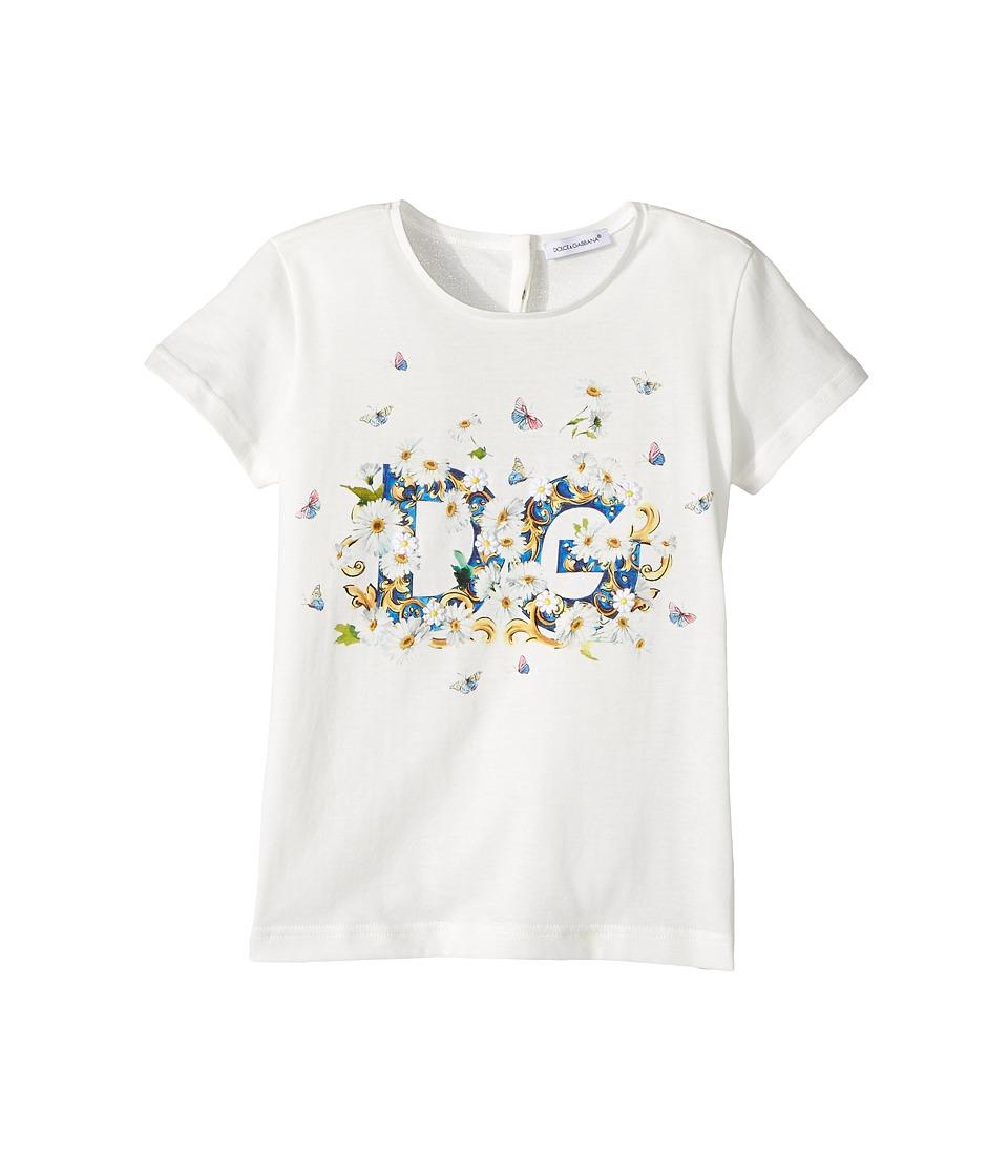 Dolce & Gabbana Kids - Caltagirone Floral Print T