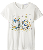 Dolce & Gabbana Kids - Caltagirone Floral Print T-Shirt (Big Kids)