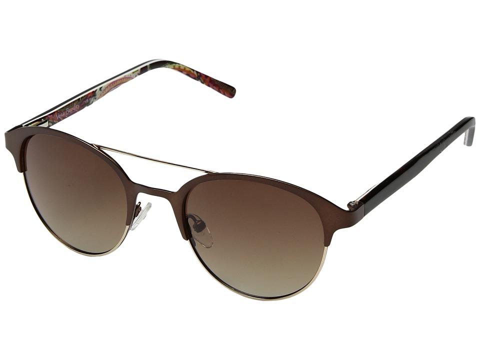 Vera Bradley Missy (Heirloom Paisley/Tortoise) Fashion Sunglasses