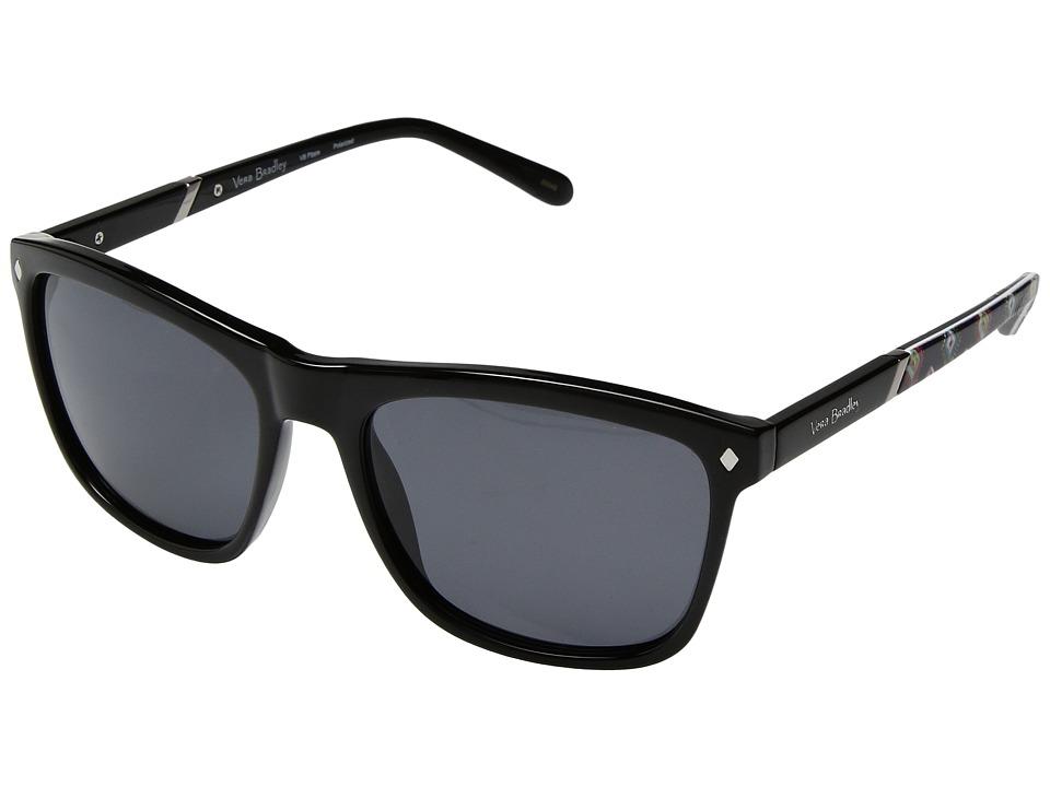 Vera Bradley Pippa (Mini Medallions/Black) Fashion Sunglasses