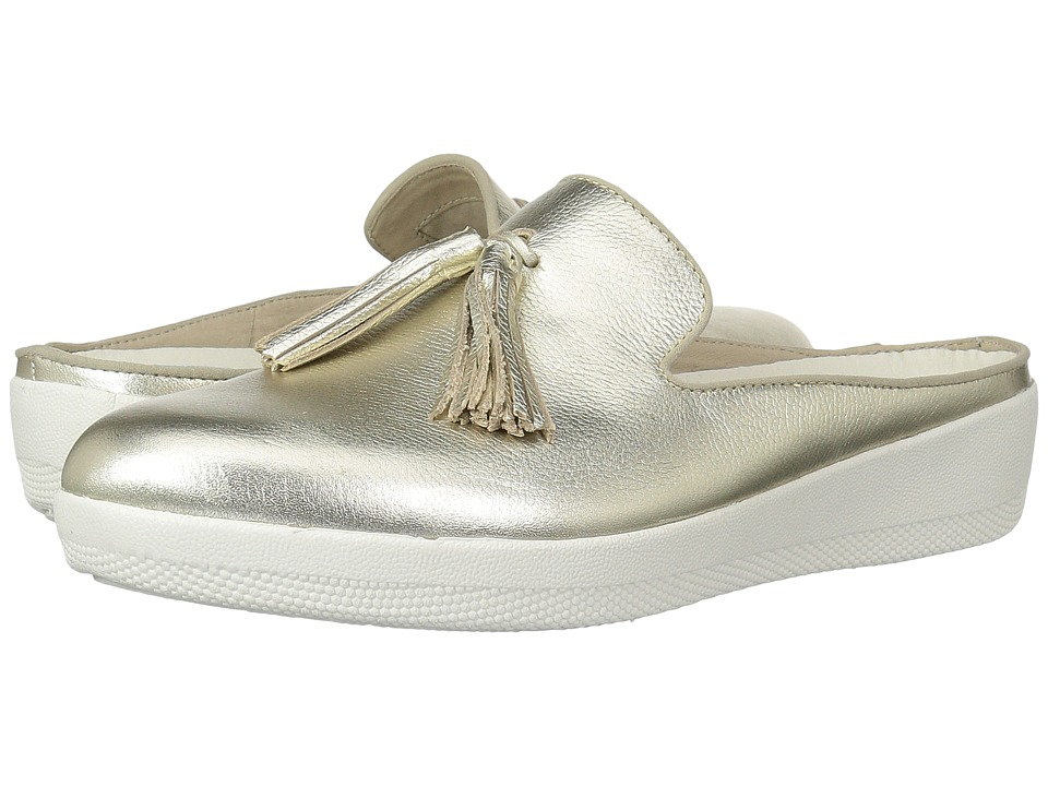 FitFlop - Superskate Slip-Ons (Pale Gold) Womens  Shoes
