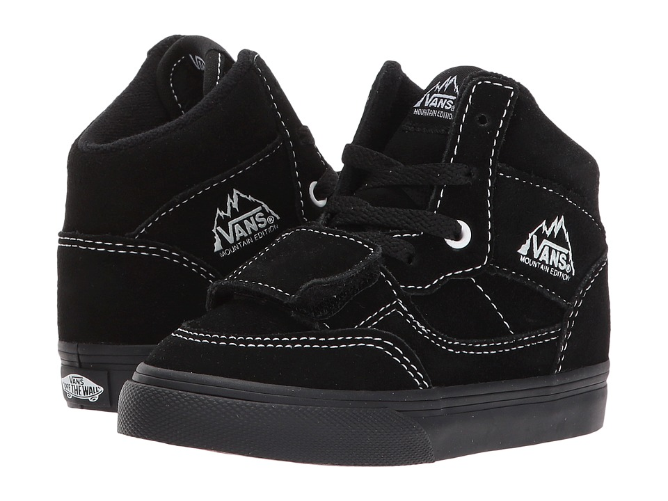 Vans Kids Mountain Edition (Toddler) ((Suede) Black/Black) Boy's Shoes