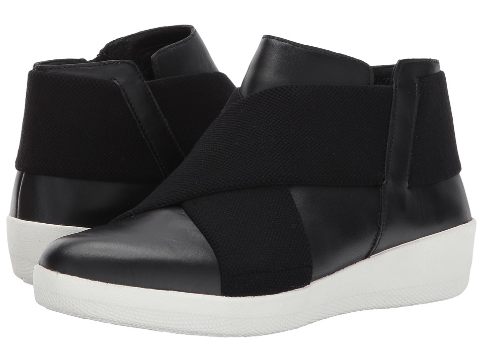 FitFlop Superflex Ankle Boots (Black) Women
