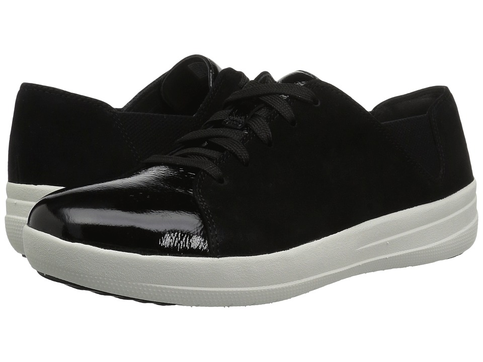 FitFlop F-Sporty Lace-Up Sneaker (Black Mix) Women