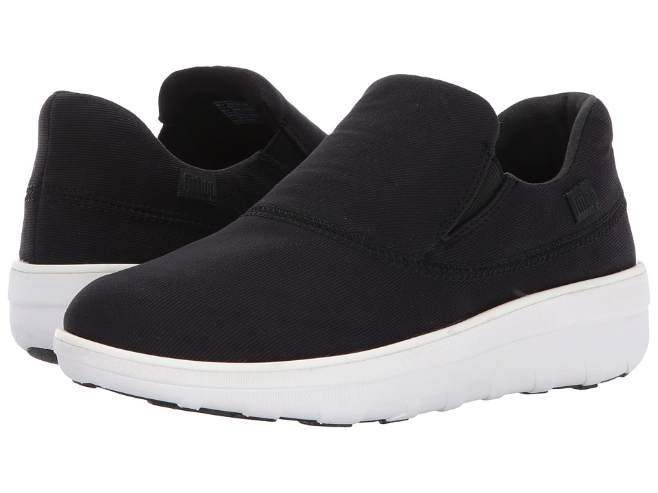 FitFlop Loaff Sporty Slip-On Sneaker (Black) Women