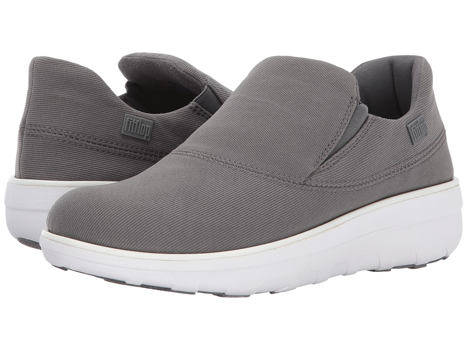 FitFlop Loaff Sporty Slip-On Sneaker (Charcoal) Women