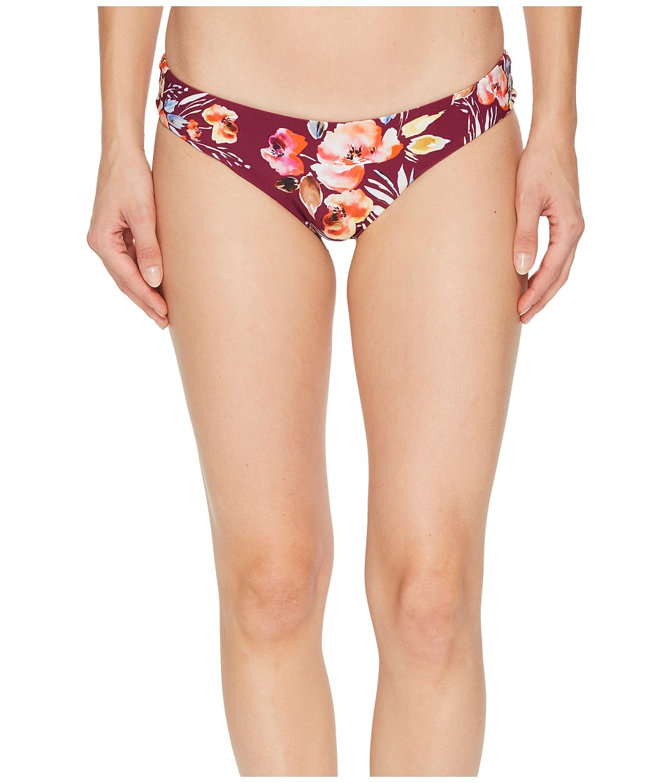 Billabong Float On By Hawaii Lo Bikini Bottom (Crushed Berry) Women