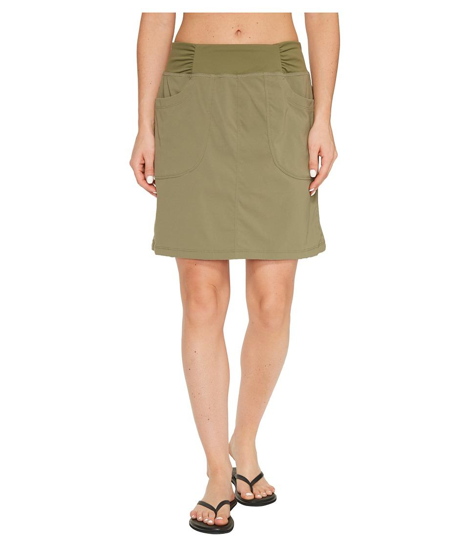 Mountain Hardwear Dynamatm Skirt (Stone Green) Women