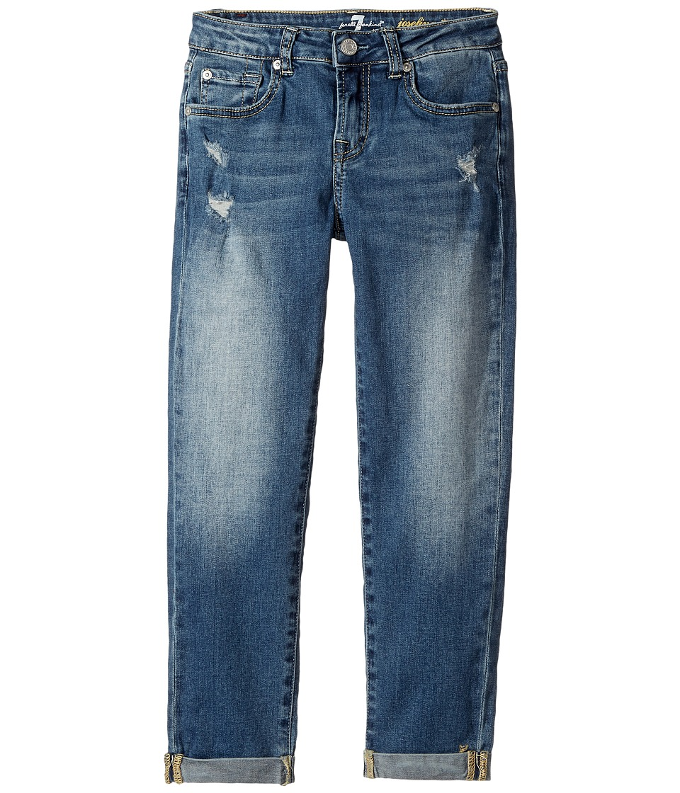 7 For All Mankind Kids - Denim Jeans in Windsor Pink Tint
