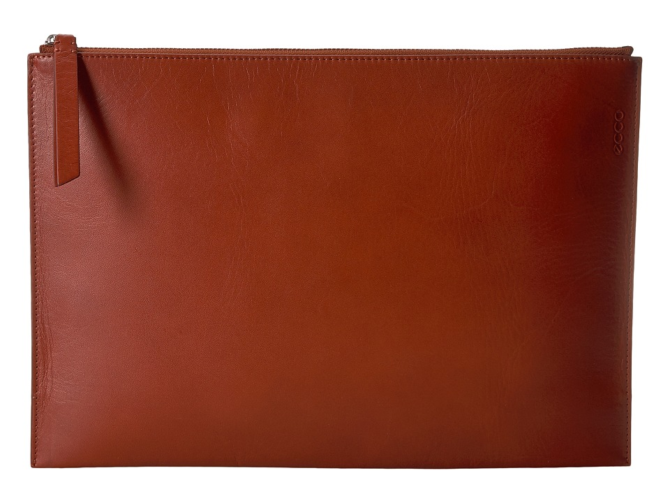 ECCO Sculptured Day Clutch (Red Clay) Clutch Handbags
