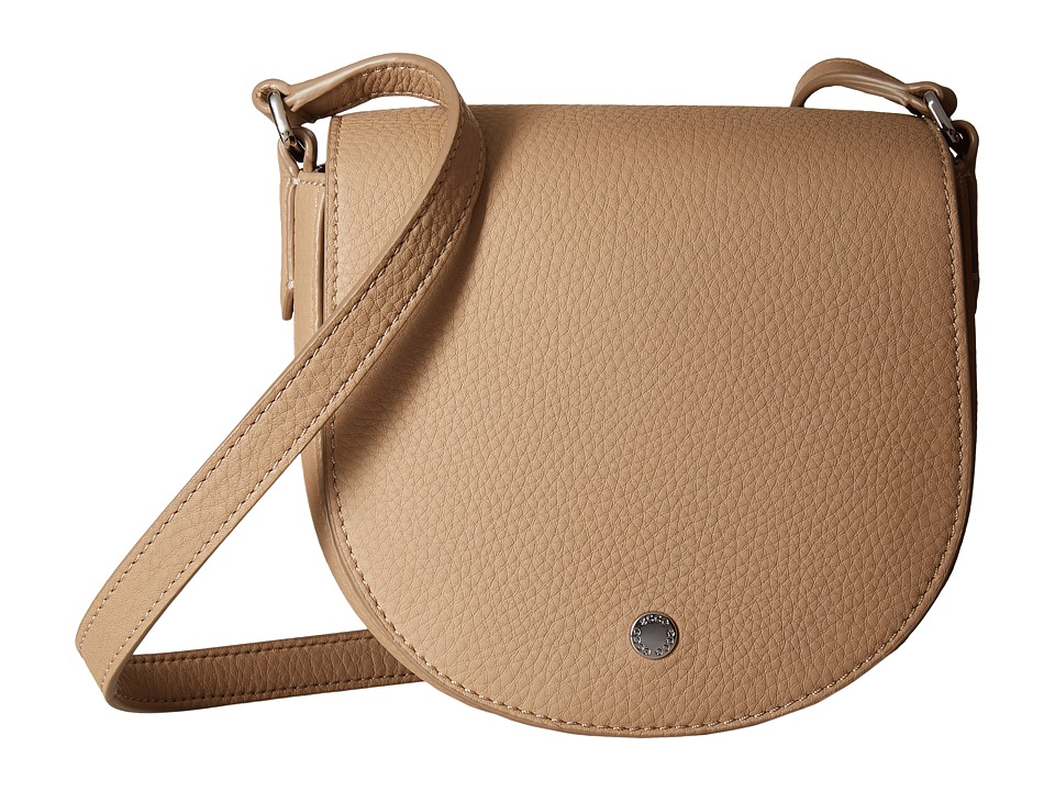 ECCO - Kauai Small Saddle Bag (Dune) Cross Body Handbags