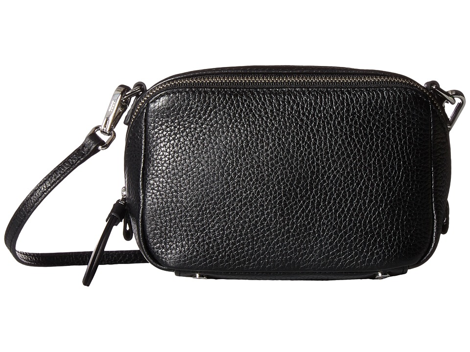 ECCO - SP 3 Mini Boxy (Black) Wristlet Handbags