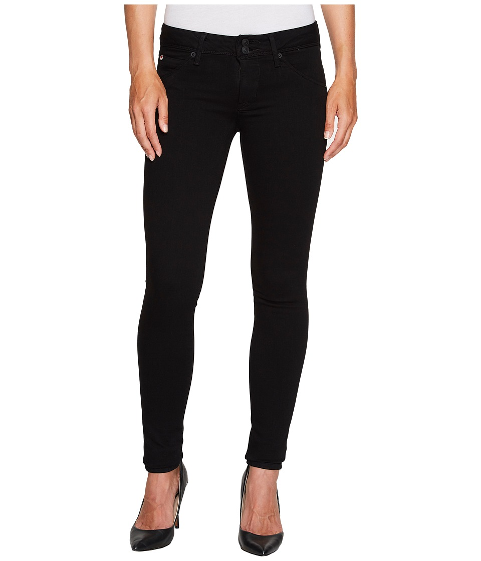 Hudson - Collin Skinny Supermodel in Black (Black) Womens Jeans