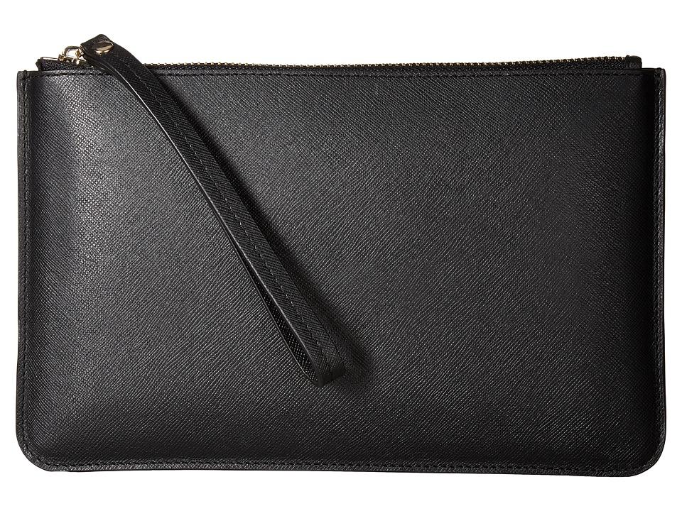ECCO - Iola Wristlet (Black) Wristlet Handbags