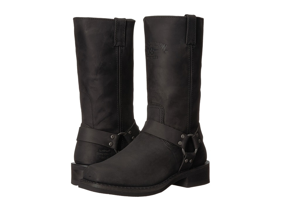 Harley-Davidson - Bowden (Black) Mens Pull-on Boots