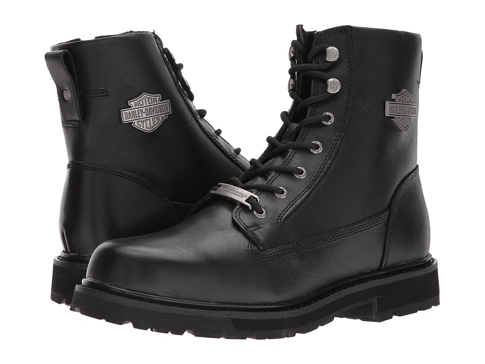 Harley-Davidson - Cartbridge (Black) Mens Lace-up Boots