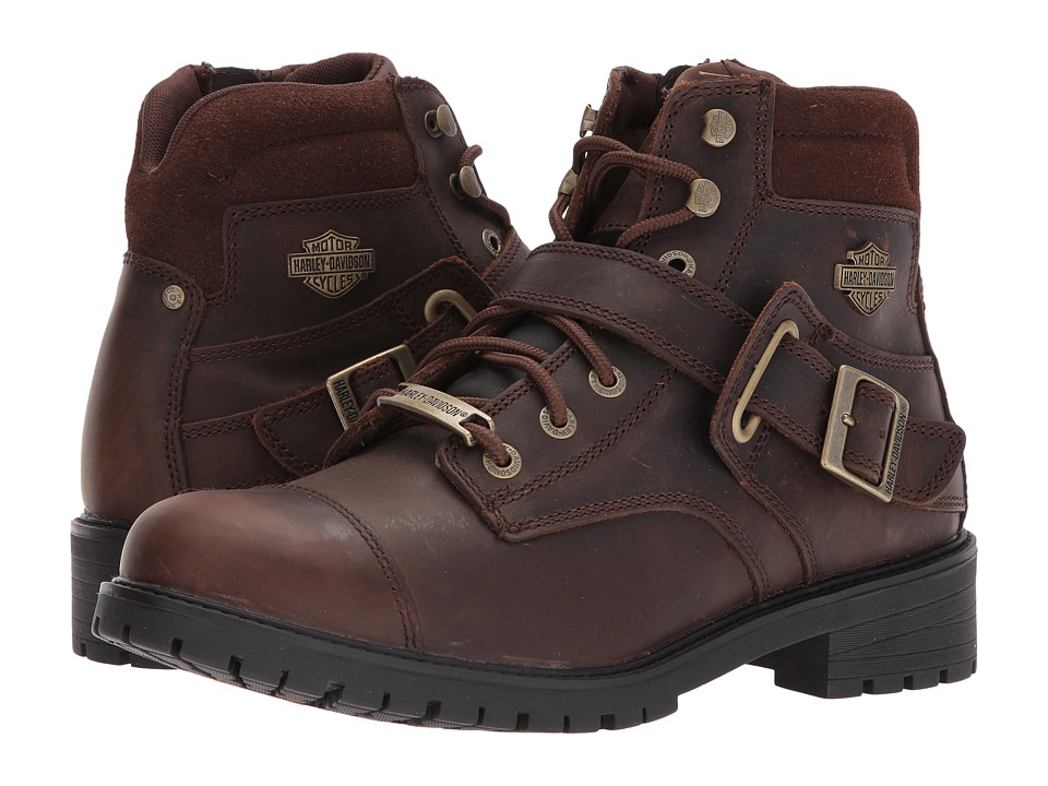 Harley-Davidson - Bowers (Brown) Mens Lace-up Boots