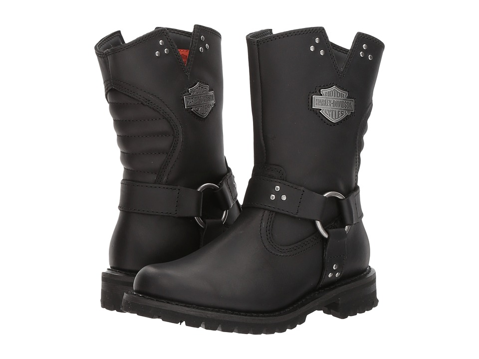 Harley-Davidson - Barford (Black) Womens Pull-on Boots