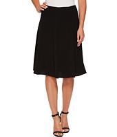 CeCe - Moss Crepe Knee Length Flounce Skirt