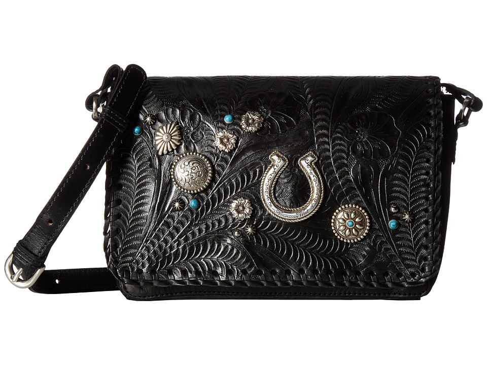 American West - Lariat Love Crossbody Flap Bag/Wallet