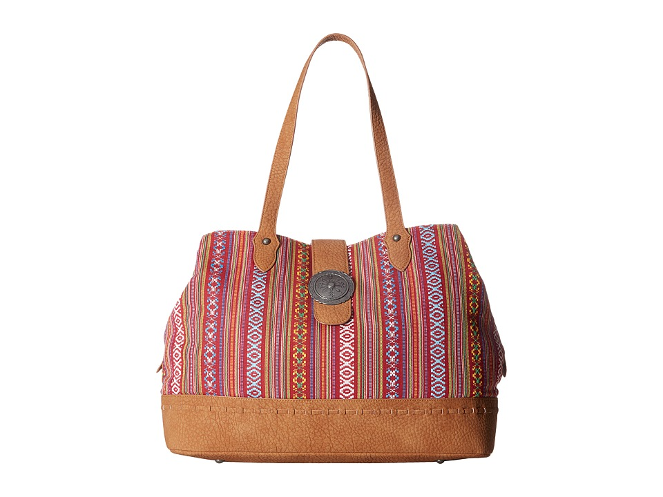 American West American West - Buena Vista Multi Compartment Large Tote