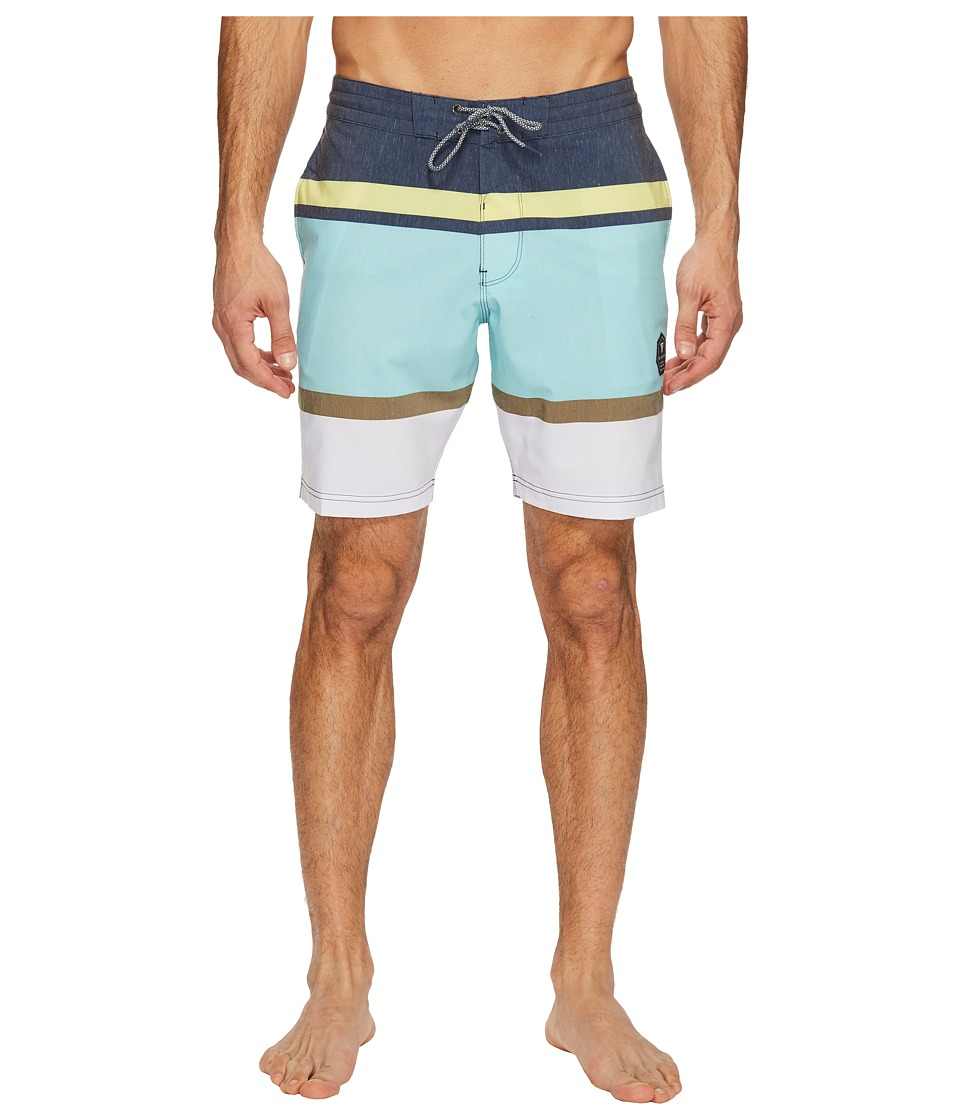 VISSLA Waterline 18.5 Boardshort (Dark Navy) Men