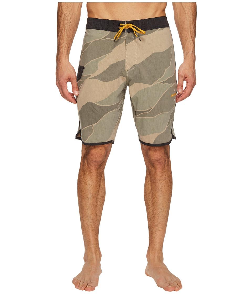 VISSLA Bordertown Four-Way Stretch Heathered Boardshorts 18.5 (Camo) Men