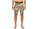 Bordertown Four-Way Stretch Heathered Boardshorts 18.5""