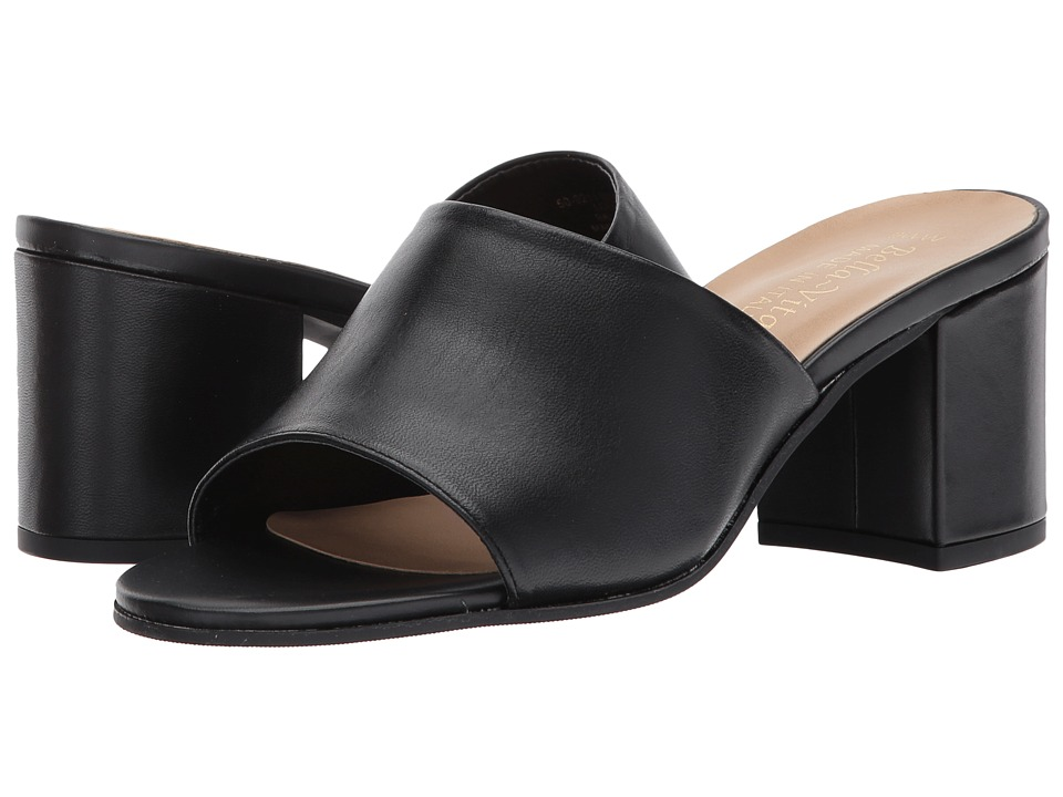 Bella-Vita Mel-Italy (Black Italian Leather) Women