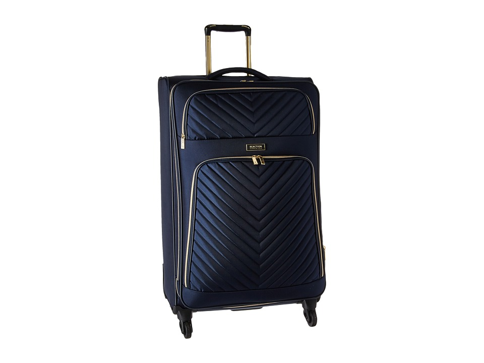 Kenneth Cole Reaction - Chelsea - 28 Quilted Expandable 4-Wheel Upright Pullman (Navy) Luggage