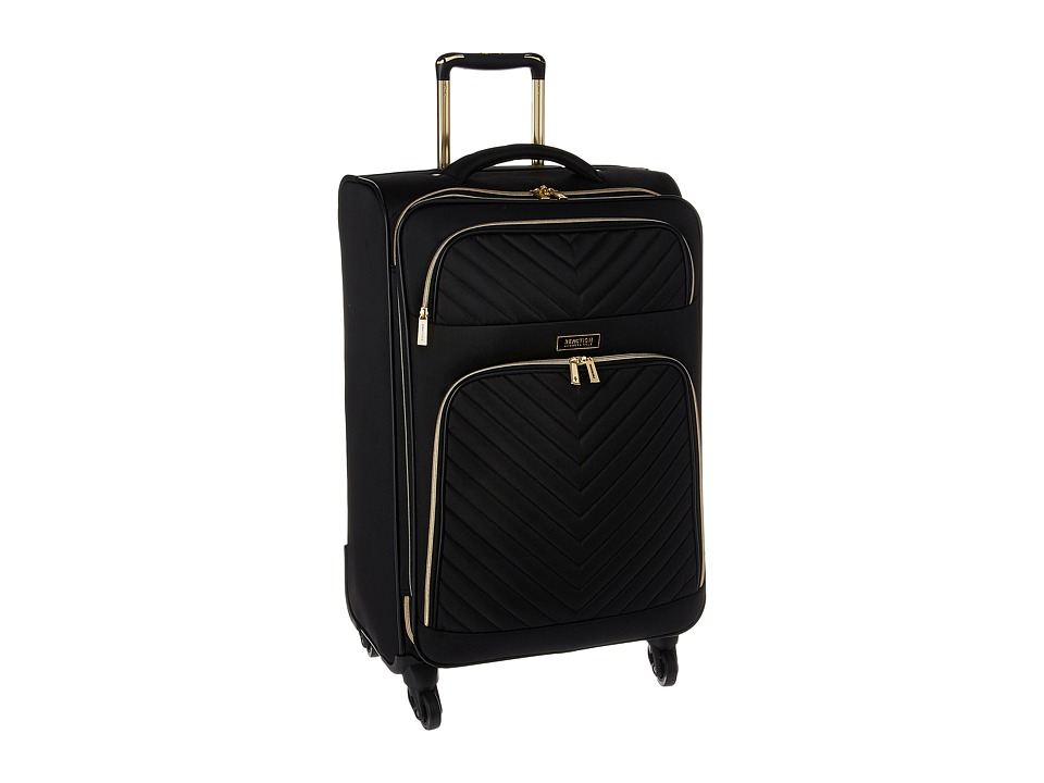 Kenneth Cole Reaction Chelsea 20 Quilted Expandable 4-Wheel Upright Carry On (Black) Luggage