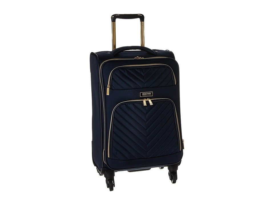 Kenneth Cole Reaction - Chelsea - 20 Quilted Expandable 4-Wheel Upright Carry On (Navy) Luggage