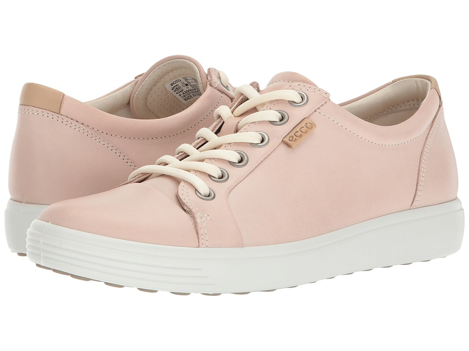 ECCO Soft 7 Sneaker (Rose Dust Cow Leather)