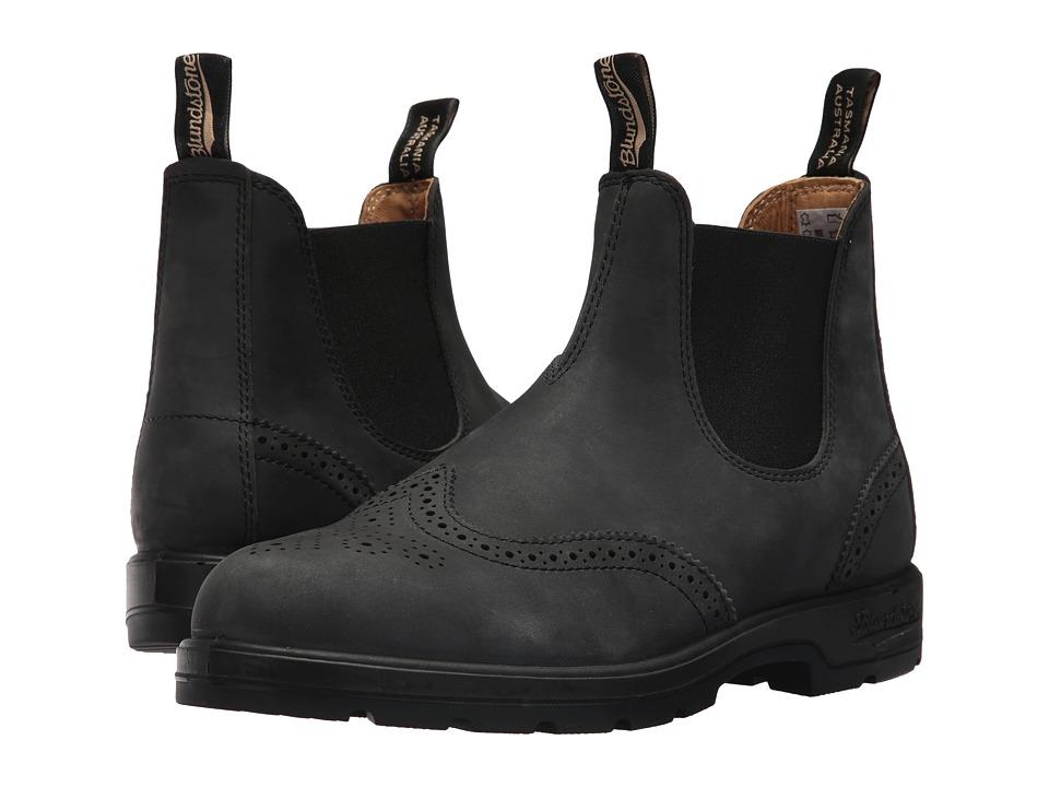 Blundstone - BL1472 (Rustic Black Brogue) Boots