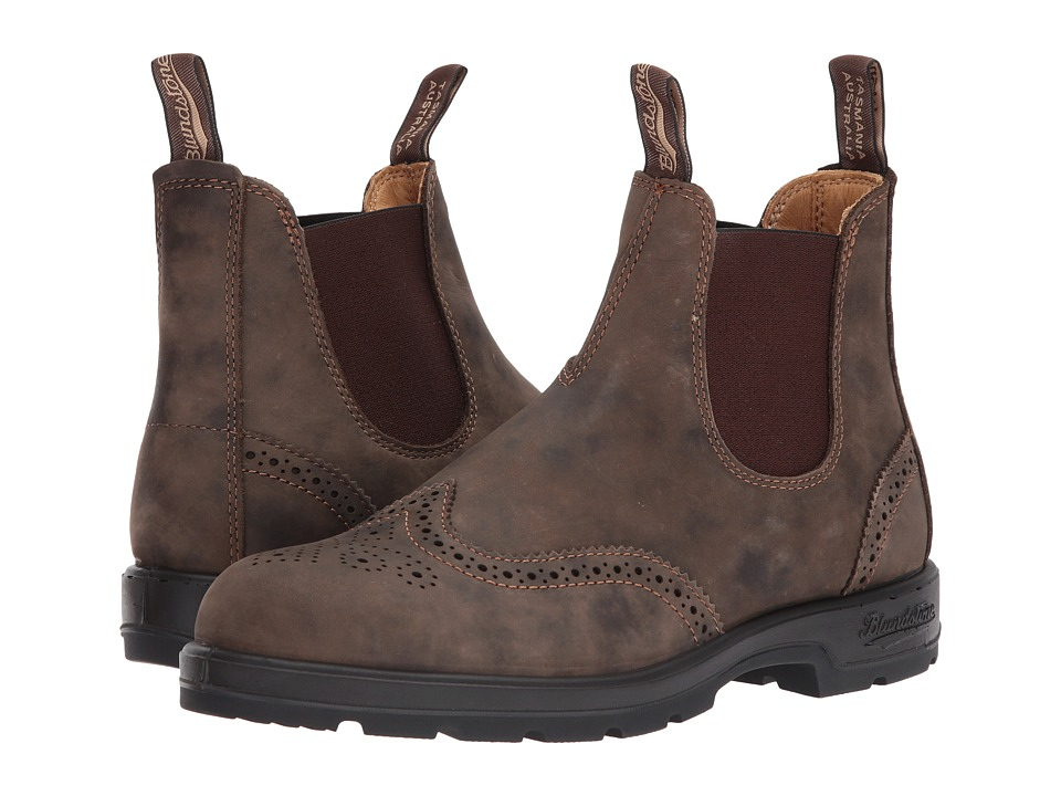 Blundstone - BL1471 (Rustic Brown Brogue) Boots