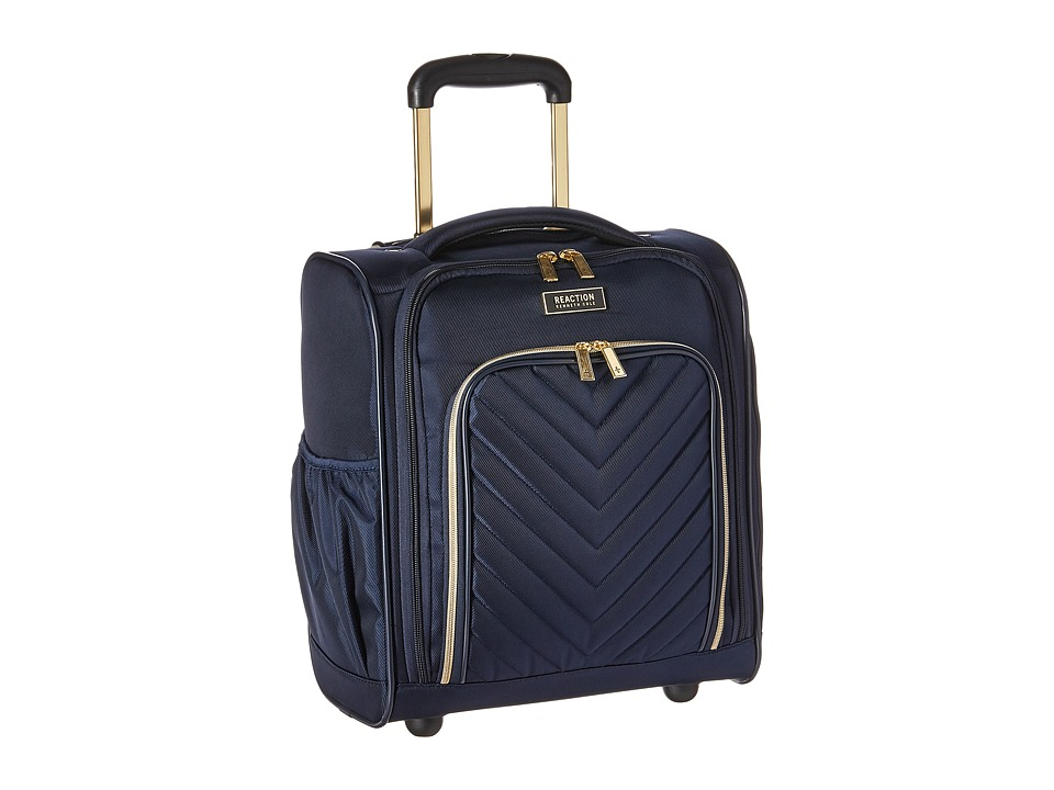 Kenneth Cole Reaction - Chelsea - Quilted 2-Wheel Underseater (Navy) Luggage