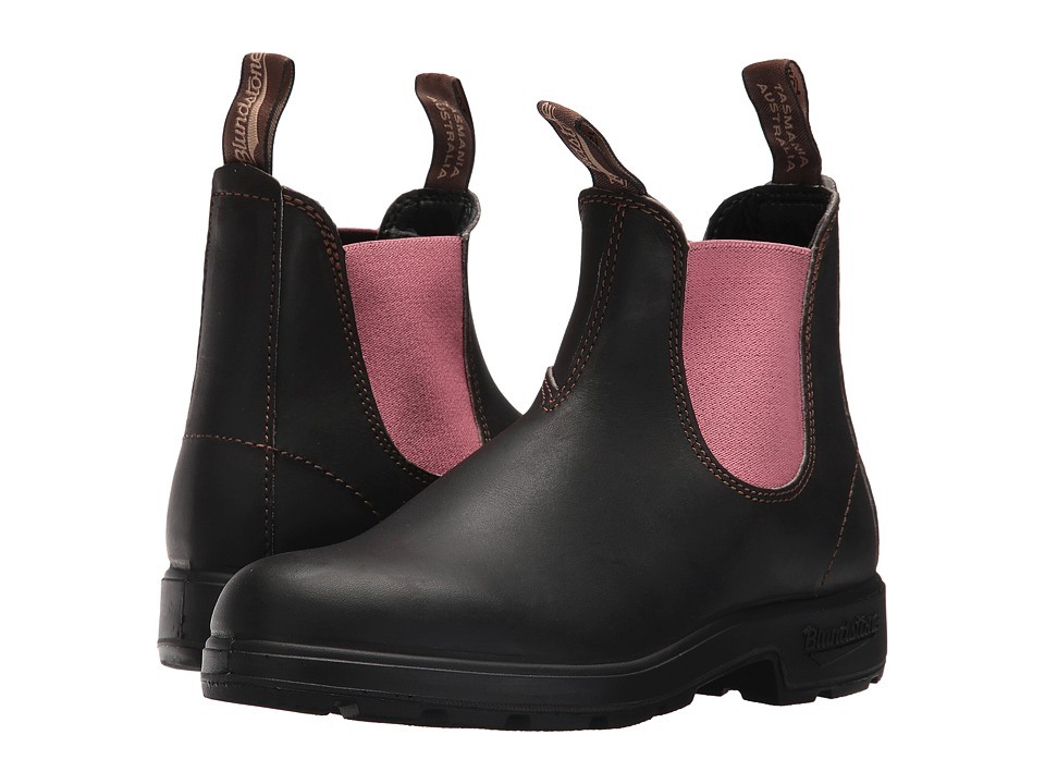 Blundstone BL1377 (Stout Brown/Pink) Women's Boots