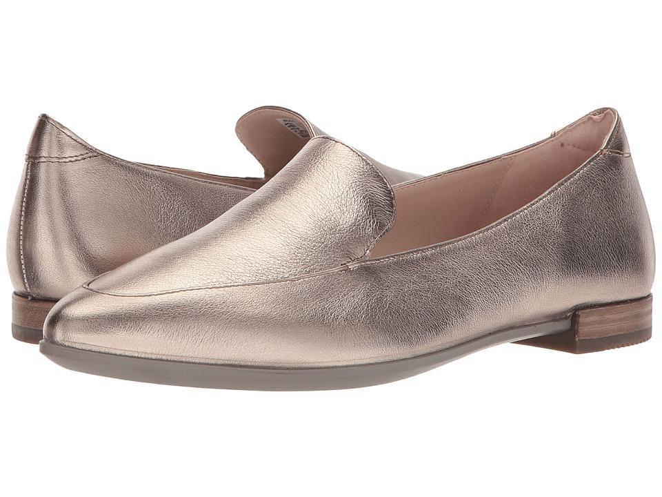 ECCO Shape Pointy Ballerina II (Warm Grey Cow Leather) Flats