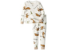 P.J. Salvage Kids Moose Fleece Jammie Set (Toddler/Little Kids/Big Kids)
