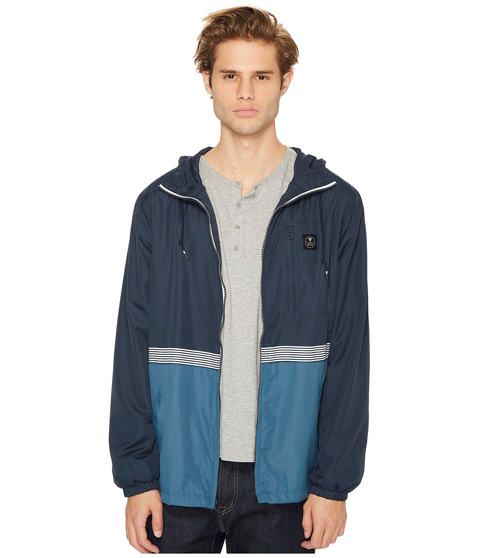 VISSLA - Dredges Windbreaker Jacket with 600 DWR Coating