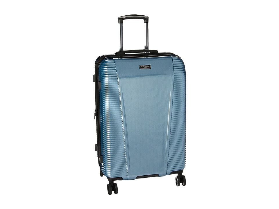 Kenneth Cole Reaction Sudden Impact 2.0 24 Expandable 8-Wheel Upright (Ice Blue) Luggage